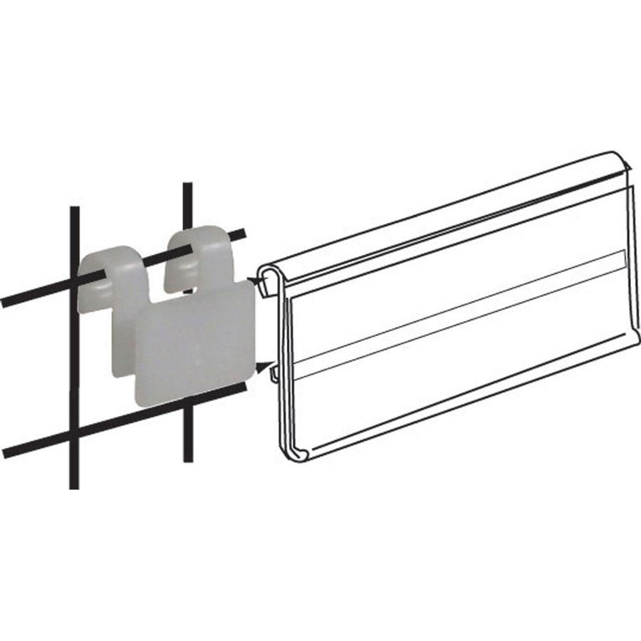 white wire clip adapter