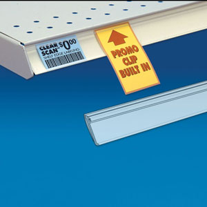 Clear Scan Shelf Edge Label Strips