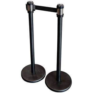 Crowd Control Post Retractable Band Stanchion