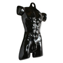 White Male Plastic Torso Fashion Form