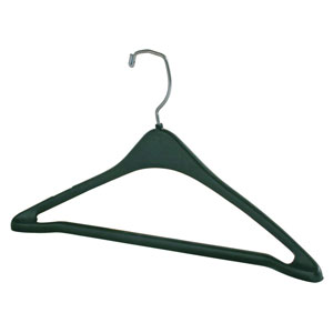 Black Plastic Men's Suit Hanger
