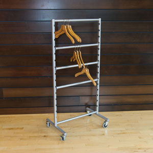Mobile Hanger Storage Rack
