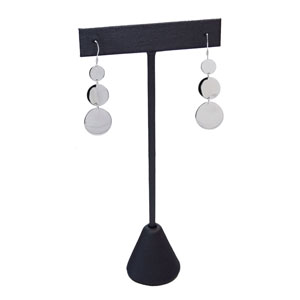 Steel Gray Earring T-Stand