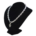 Black Velvet Necklace Jewelry Display Stand