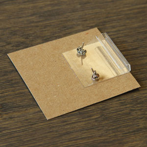 Adhesive Earring Card Adapters