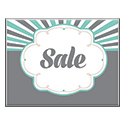 "Vintage Sale Card, 11"" X 8-1/2"", Sold Individually"