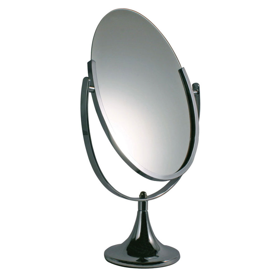 Well known Chrome Countertop Jewelry Mirror | Retail Hangers | By Grand +  ZQ57