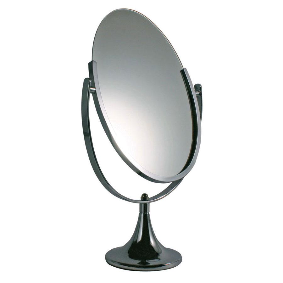 Countertop Mirror : jewelry counter, the chrome countertop mirror is a two-sided mirror ...