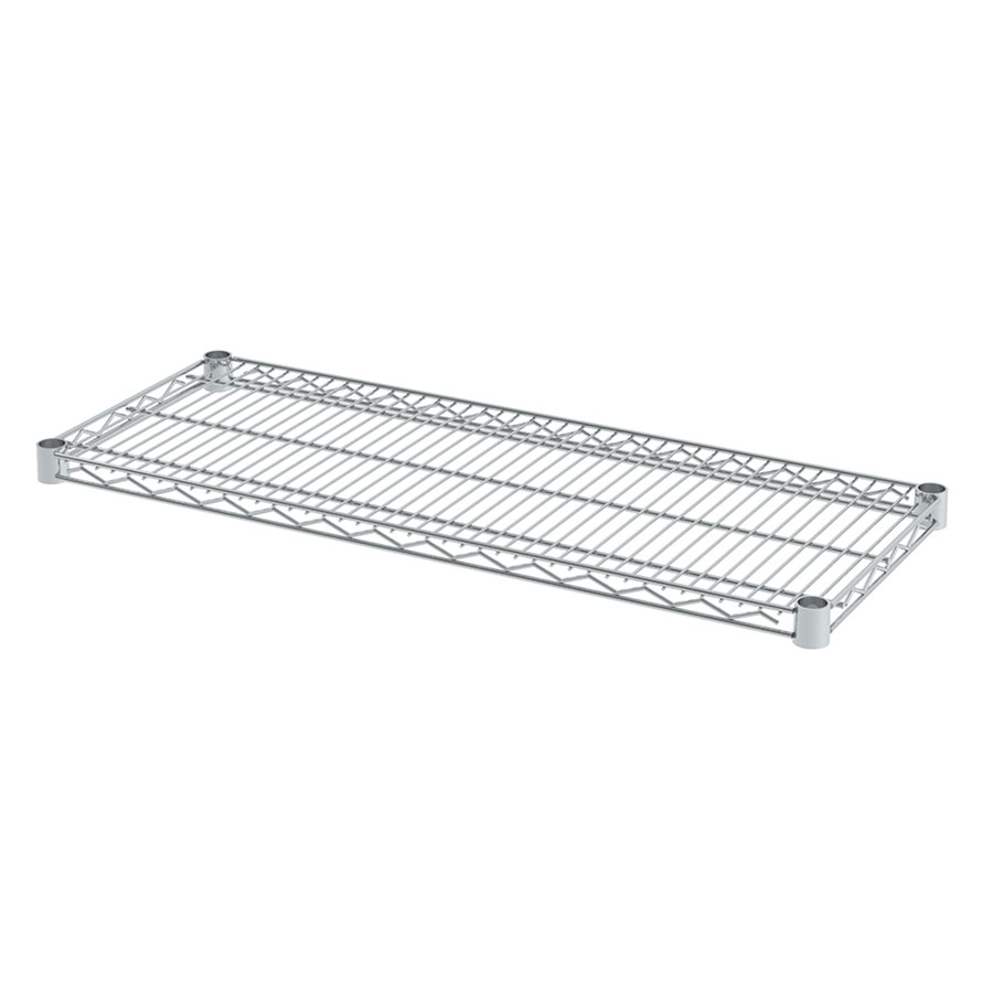 Chrome Fixed Wire Shelf - 24\
