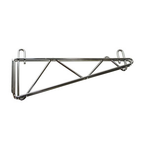 Wallmount Shelf Bracket for Wire Shelves