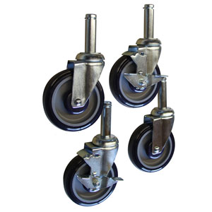 Heavy Duty Casters w/ Compression Stems