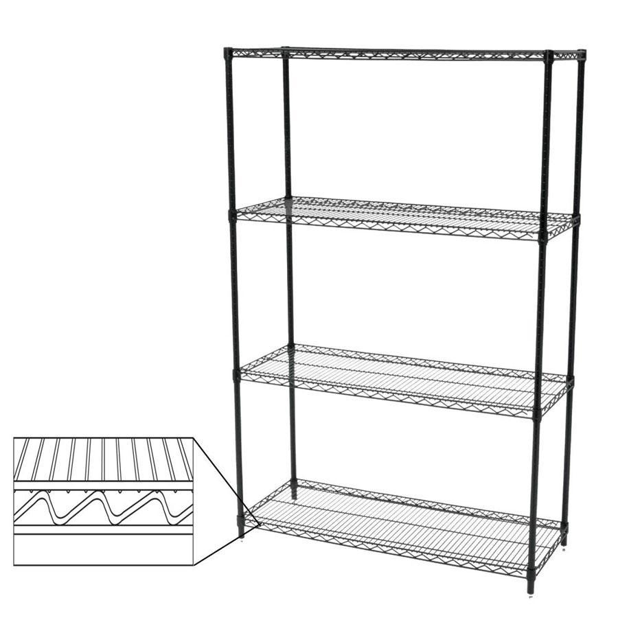 NSF Wire Shelving Units | Retail Shelving Systems | By Grand + ...