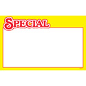 Yellow Special Retail Promotional Cards