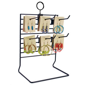 Black Wire Countertop Display Rack
