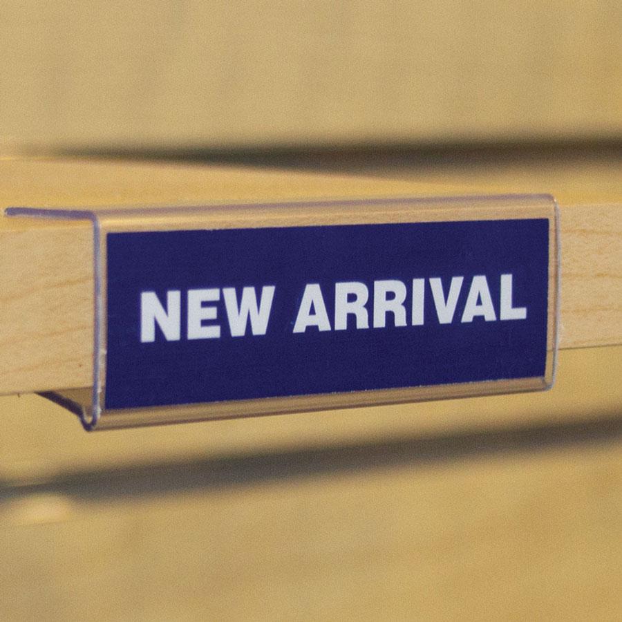Wood Shelf Ticket Holder Retail Signholders By Grand