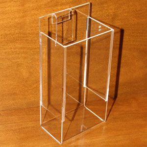 Single Pocket Acrylic Gridwall Literature Holder
