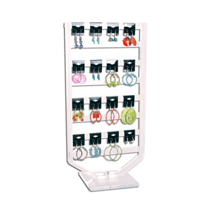 Acrylic Countertop 8-Bar Earring Display