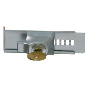 KA Showcase Lock W/ Adhesive