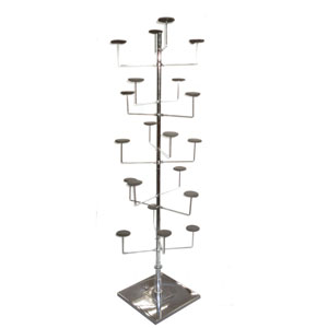 Millinery Style Hat Display Rack