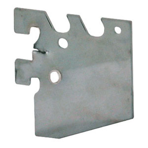 Chrome Gridwall Mounting Bracket for 400 Series Standards