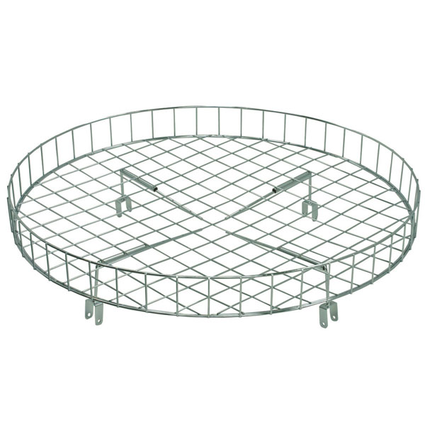 "30"" Wire Basket Round Rack Topper"