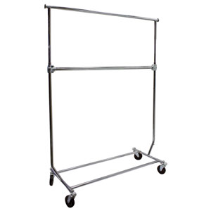 Add-on Rail For Collapsible Salesman Rack