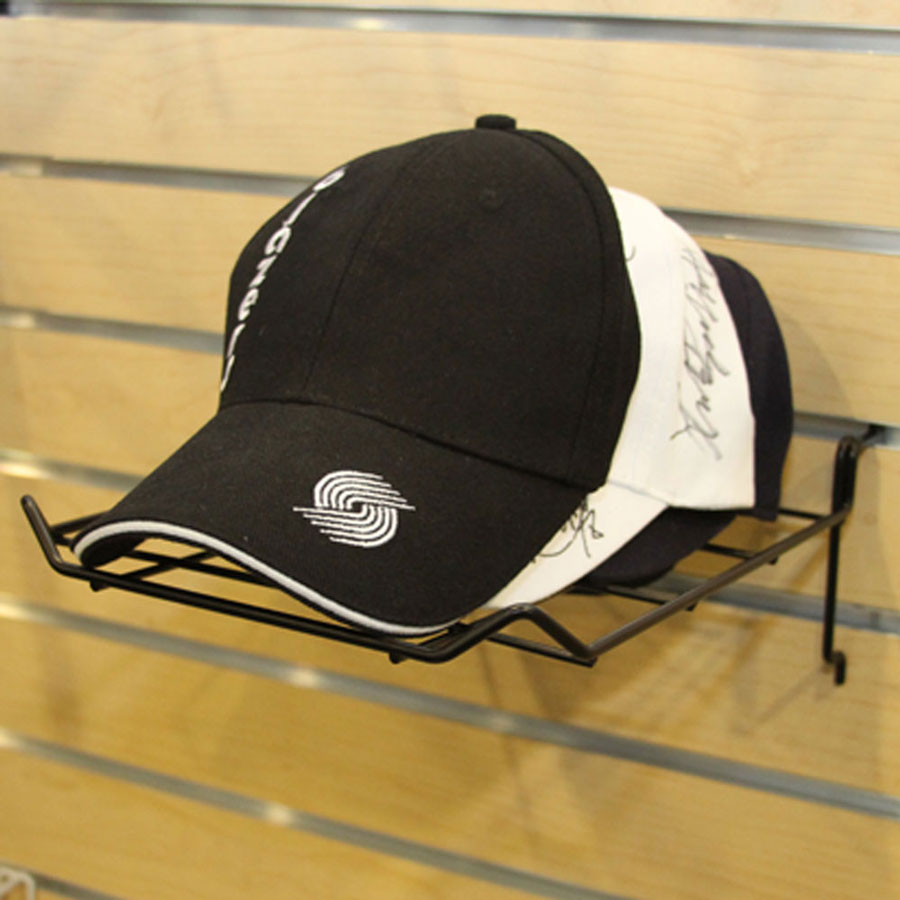 Black Wire Cap Shelf Rack Retail Gridwall Displays By