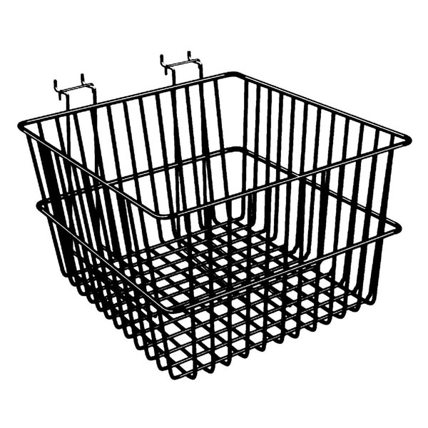 Multi-Fit Wire Baskets - 12'' x 12'' x 8''