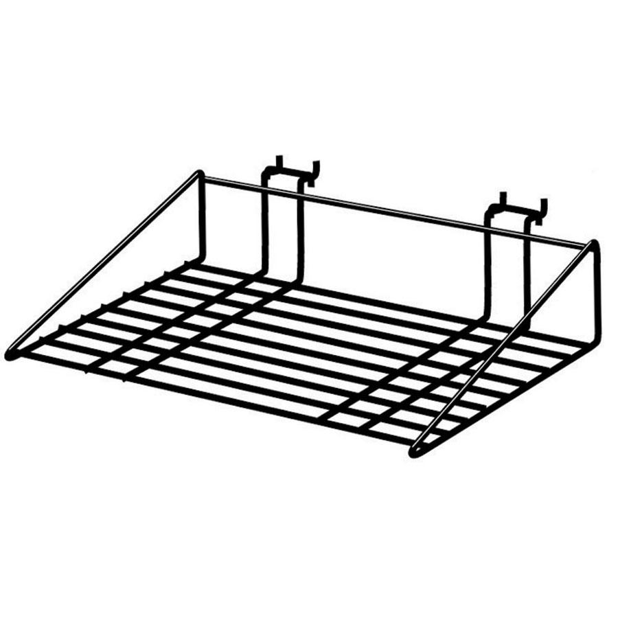 Multi-Use Wire Display Shelf   Retail Slatwall And Gridwall Displays ...