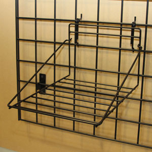 Multi Fit Black Wire Shirt Shelf