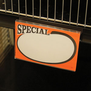 "C-Channel Sign Holder 3-1/2"" x 5-1/2"""