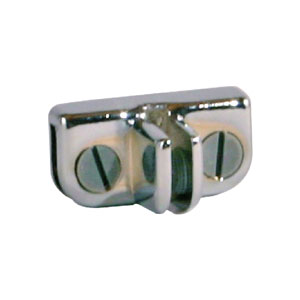 3-Way Bottom Glass Connector Hardware