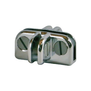 4-Way Bottom Glass Connector Hardware