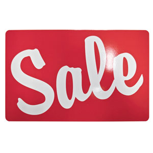 Sale Retail Store Sign 11