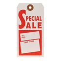 Special Sale Hanging Price Tag - Unstrung