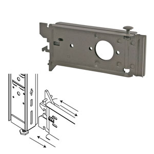 Lozier Gondola Low Base Bracket