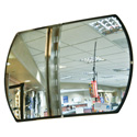 Anti-Theft Rectangular Convex Security Mirrors
