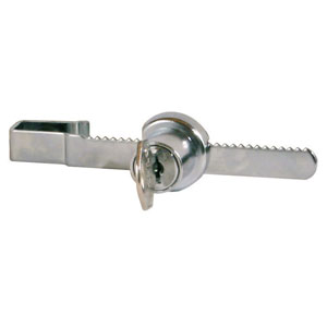 Ratchet Security Lock For Sliding Glass Showcase