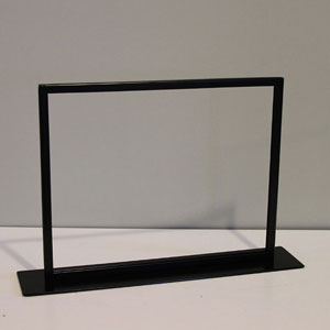 11x14 Table Top Sign Frame - Black
