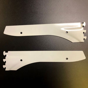 White Shelf Bracket for 993-1248S and 993-1236S