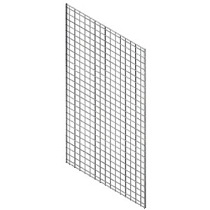 Wall Starter / Add-On Grid Panel - White