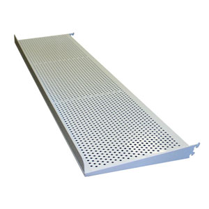 Perforated Shoe Shelf W/ Strip