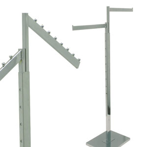 2-Way Apparel Racks - Rectangular Arms
