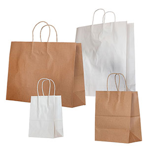 Paper Shopping and Merchandise Bags