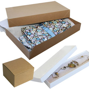 Gift & Apparel Paper Boxes