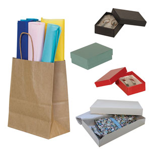 Bags, Boxes, & Gift Wrap