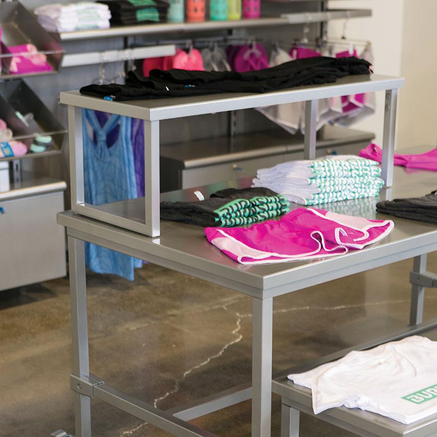 Burnside Tables Retail Apparel Racks By Grand