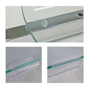 Glass Accessories & Tag Holders
