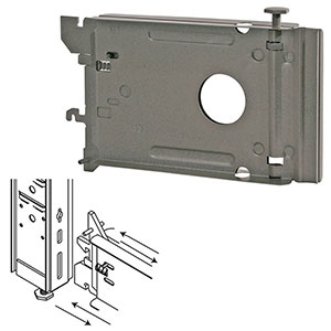 Lozier Gondola High Base Bracket