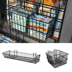 Gridwall Baskets & Bins